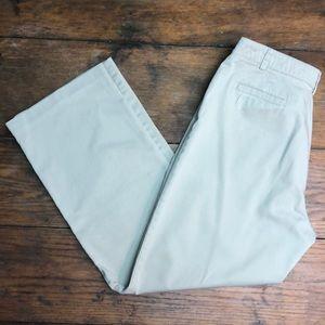 Sag Harbor Stretch Petite Khaki Pants